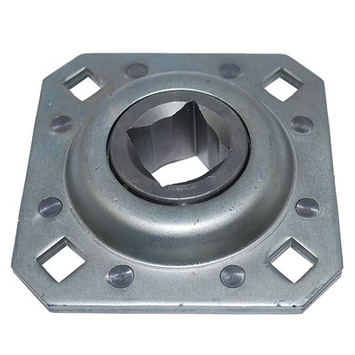 3 4 Square Bore Bearings : Flanged disc bearing quot square bore st